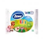 Влажная туалетная бумага Zewa Kids с свежим ароматом, 42 листа