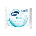 Влажная туалетная бумага Zewa Pure без аромата, 42 листа
