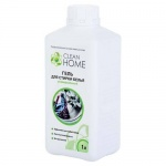 Гель для стирки Clean Home 1л, универсальный