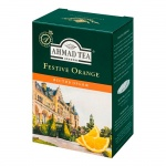 Чай Ahmad Festive Orange (Фестив Оранж), черный, листовой, 200 г