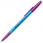 Ручка шариковая Berlingo W-219 Color синяя, 0.32мм, цвет корпуса ассорти