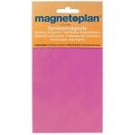 Магниты Magnetoplan d=20мм, 20шт/уп, фиолетовые