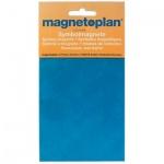 Магниты Magnetoplan d=20мм, 20шт/уп, синий