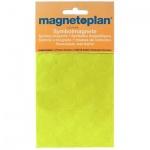Магниты Magnetoplan d=20мм, 20шт/уп, желтый