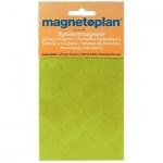 Магниты Magnetoplan d=20мм, 20шт/уп, зеленые