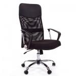 Кресло руководителя Chairman 610 ткань, черная, крестовина хром