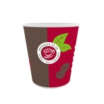 Стакан одноразовый Huhtamaki Coffee-to-go 180мл, бумажный, 100шт/уп