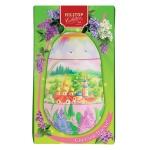 Чай Hilltop Весенняя радуга Королевское Золото, черный, листовой, 80г, футляр-яйцо