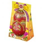 Чай Hilltop Цветочные узоры Цейлонское утро, черный, листовой, 80г, ж/б