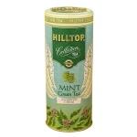 Чай Hilltop с мятой, зеленый, листовой, 100г, ж/б