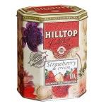 Чай Hilltop Земляника со сливками, черный, листовой, 100г, ж/б