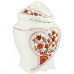 Чай Hilltop Цветочный орнамент, черный, листовой, 100г, в чайнице, 1001 ночь