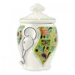 Чай Hilltop Слон Жасминовый, зеленый, листовой, 100г, в чайнице