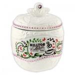 Чай Hilltop Яблоко, черный, листовой, 80г, в чайнице, Цейлонское утро