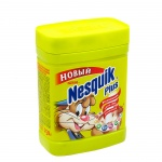 Какао Nesquik быстрорастворимое 250г, пластик