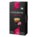 Кофе в капсулах Cafe Royal Lungo Forte, 10 капсул, 50г