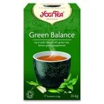 Чай Yogi Tea Green Balance (с комбучей), зеленый, 17 пакетиков, 30.6г