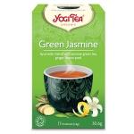 Чай Yogi Tea Green Jasmine (с жасмином), зеленый, 17 пакетиков, 30.6г