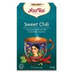 Чай Yogi Tea Sweet Chili (сладкий чили), травяной, 17 пакетиков, 30.6г