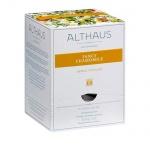 Чай Althaus Fancy Chamomile, травяной, листовой, в пирамидках, 15 пакетиков
