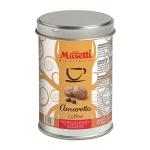 Кофе молотый Musetti Amaretto 125г, ж/б, ароматизированный