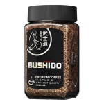 Кофе растворимый Bushido Black Katana 100г, стекло