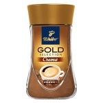 Кофе растворимый Tchibo Gold Selection Crema 90г, стекло