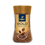 Кофе растворимый Tchibo Gold Selection 95г, стекло