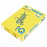 Цветная бумага для принтера Iq Color лимонно-желтая, А4, ZG34, 80г/м2, 100листов