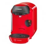 Кофемашина капсульная Bosch Tassimo Vivy TAS 1253, 1300 Вт, красная