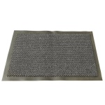 Коврик придверный Vebe ворсовый, 120х180см, темно-серый