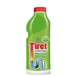 Средство для прочистки труб Tiret Антибактериальный 500мл, гель