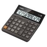 Калькулятор настольный Casio DH-14 коричневый, 14 разрядов, бухгалтерский