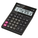 Калькулятор настольный Casio GR-12 черный, 12 разрядов