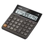 Калькулятор настольный Casio DH-16 коричневый, 16 разрядов, бухгалтерский