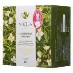 Чай Niktea Silver Jasmine (Серебряный Жасмин), зеленый, 20 пакетиков для чайника