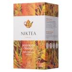 Чай Niktea Rooibush Orange (Ройбуш Оранж), травяной, 25 пакетиков