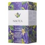 Чай Niktea Earl Grey Ultramarine (Эрл Грей Ультрамарин), черный, 25 пакетиков