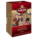 Чай Майский Душистый Чабрец, черный, ср.листовой, 180г
