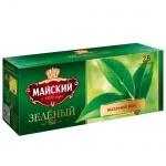 Чай Майский Зеленый, 25 пакетиков
