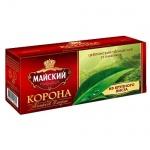 Чай Майский Корона Российской Империи, черный, 25 пакетиков