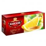 Чай Майский Лимон, 25 пакетиков