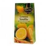 Чай Русская Чайная Компания Лимонное суфле, черный, листовой, 50г