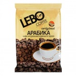 Кофе в зернах Lebo Original 250г, пачка
