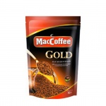 Кофе растворимый Maccoffee Gold 90г, пакет