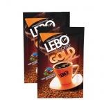 Кофе порционный Lebo Gold 25шт х 2г, растворимый, коробка