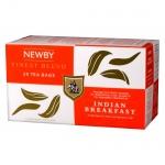 Чай Newby Indian Breakfast (Индиан брэкфаст), черный, 25 пакетиков