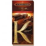 Шоколад Коркунов горький классический 55%, 90г