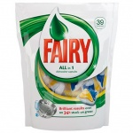 Капсулы для ПММ Fairy All in 1 39шт