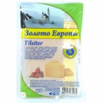 Сыр в нарезке Золото Европы 45% Тильзитер, 150г